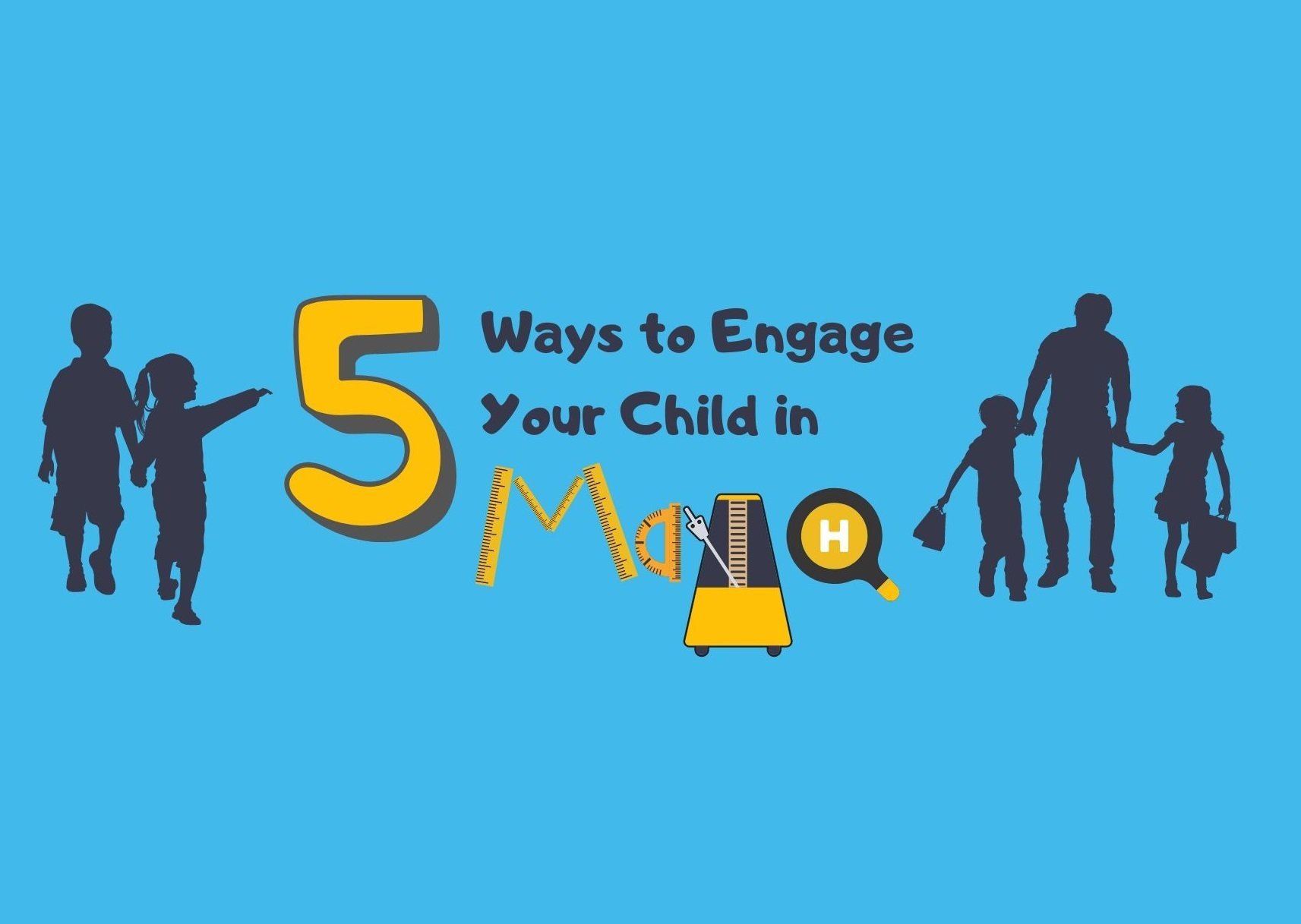 5 ways to engage child in math