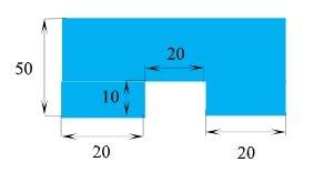 composite geometric figure area