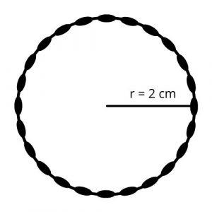 circle with radius