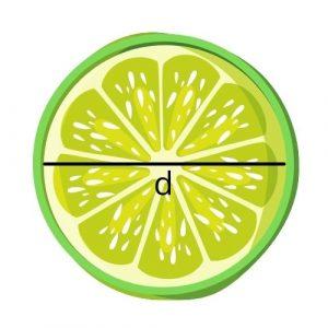 diameter lime