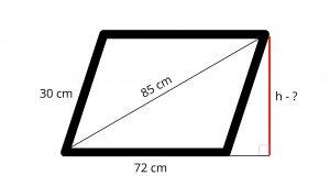 2D trigonometry parallelogram