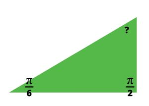 right triangle radians