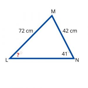 sine law missing angle 1