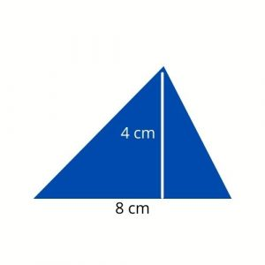 triangle with height