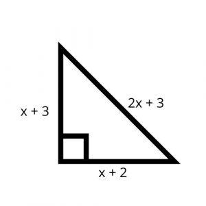 triangle sides algebraic expressions