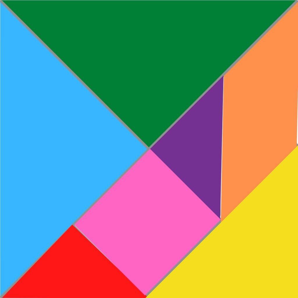 tangram cut out template