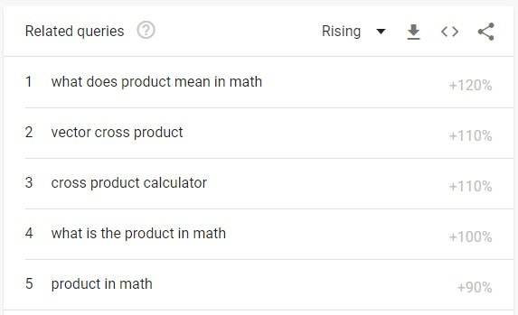 search results for product