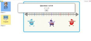 integer addition subtraction game