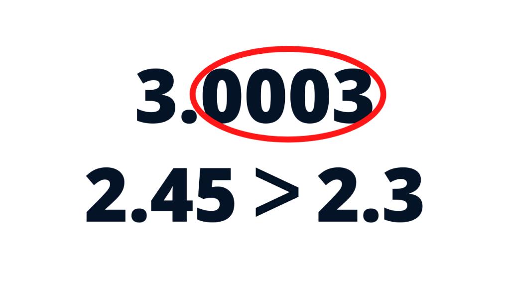 decimals comparing