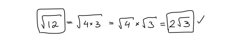 simplifying radical
