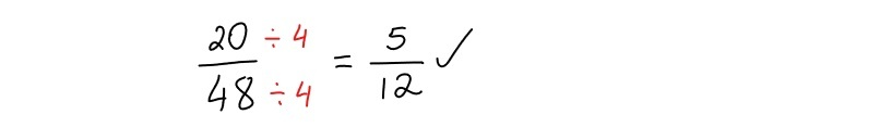 reducing a fraction