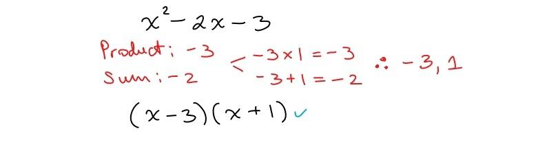 factoring simple trinomial