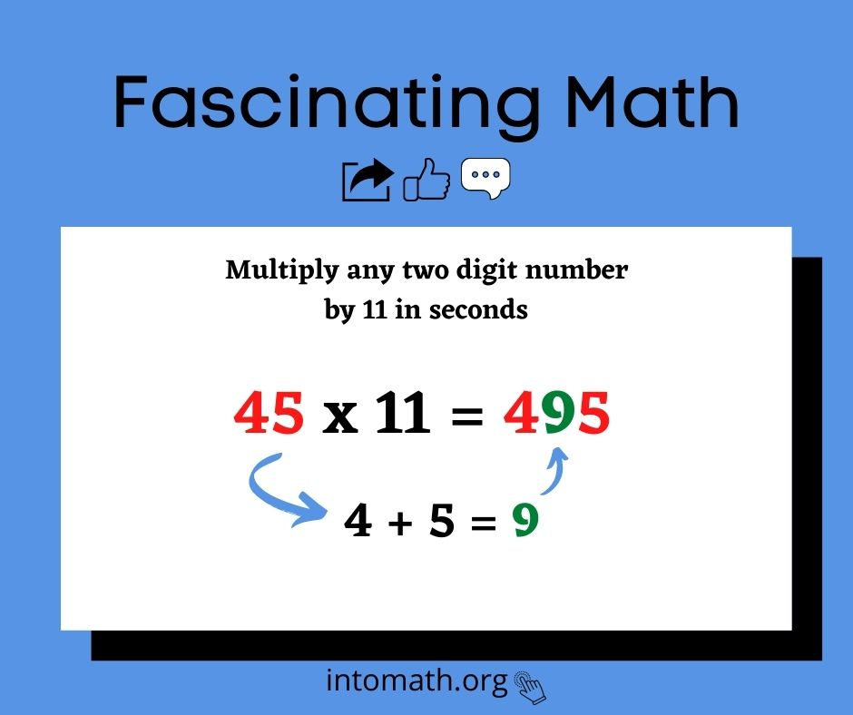 multiply by 11 in seconds