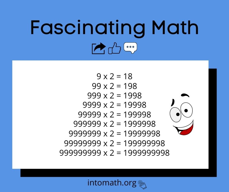 number pattern times 2