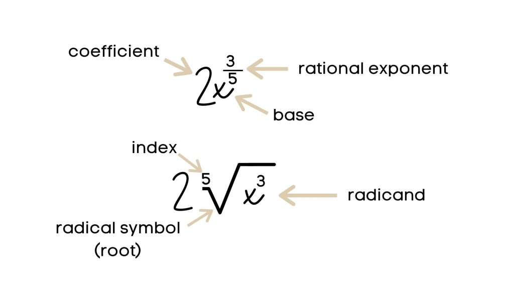 rational exponents and roots