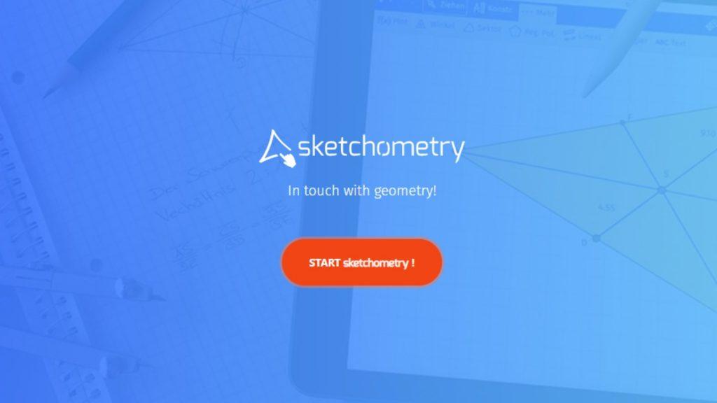 sketchometry homepage