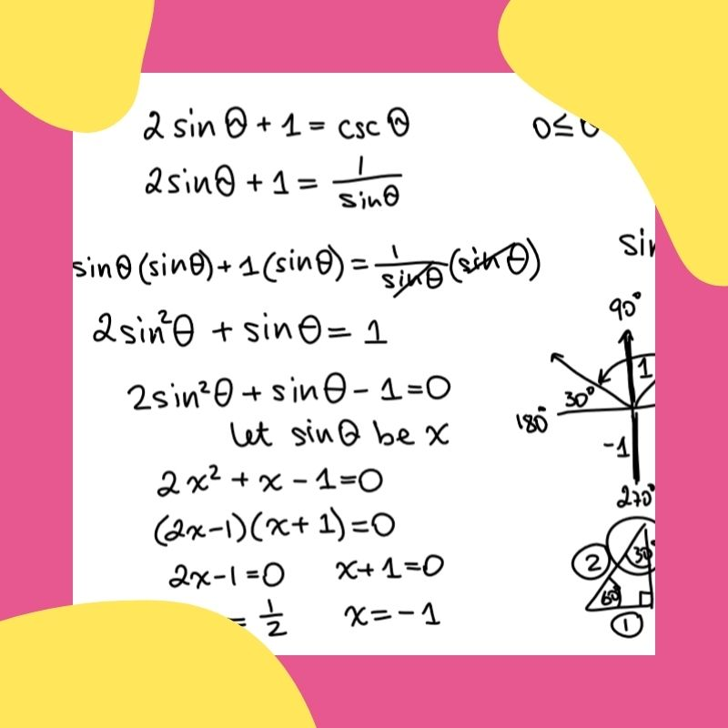 solving trig equations thumbnail