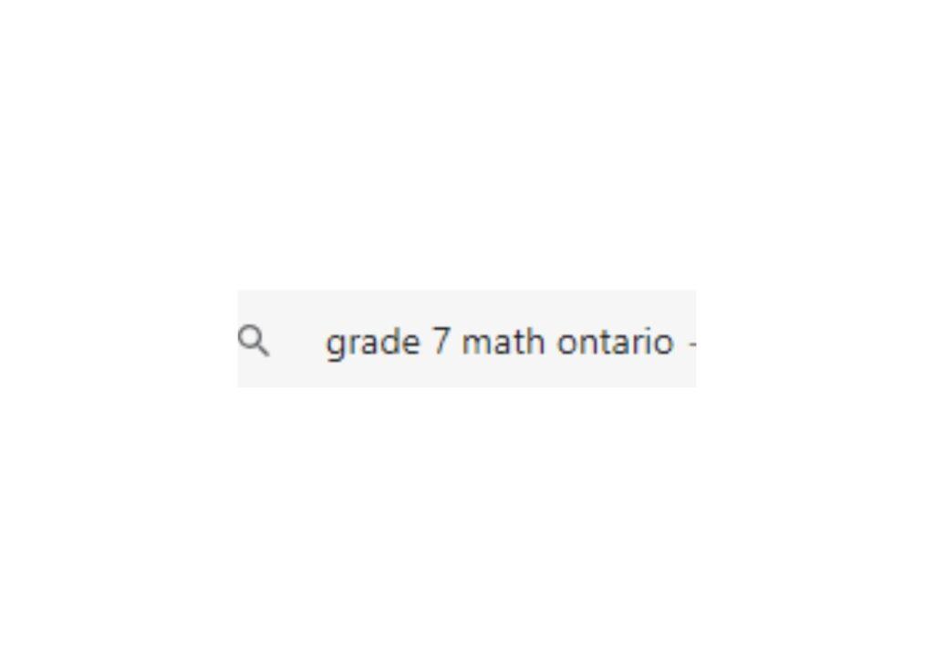 grade 7 math search result